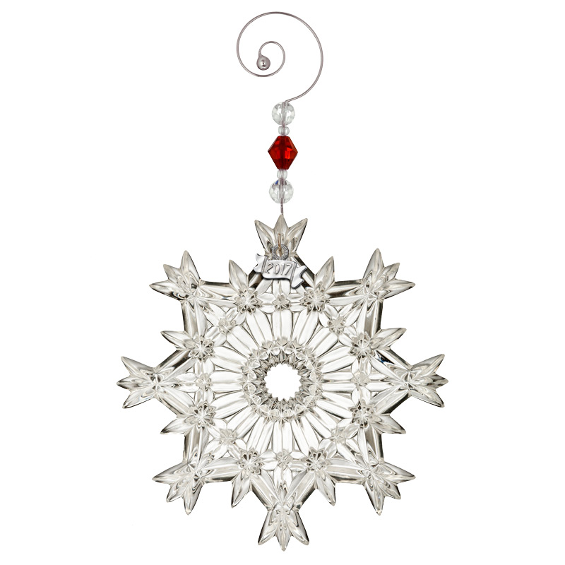 086c4feae 2017 Snow Crystal Pierced Ornament | Waterford Christmas Tree Decoration |  Snowflake decoration