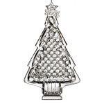 2017 Christmas Tree | Waterford Crystal Christmas Tree Decoration | Tree Ornament