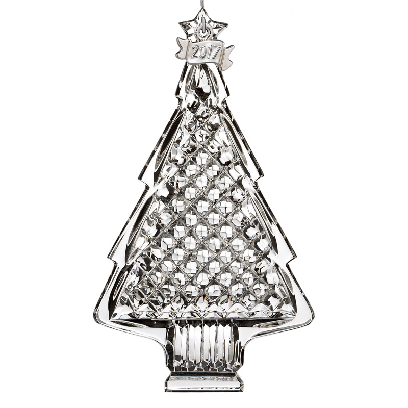 2017 christmas tree waterford crystal christmas tree decoration tree ornament - Crystal Christmas Tree