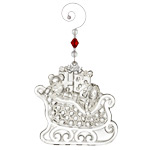 2017 Waterford Crystal Christmas Wonders Ornament - Christmas Sleigh