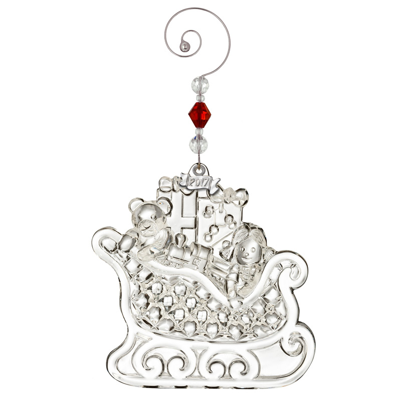 Waterford crystal christmas wonders sleigh ornament
