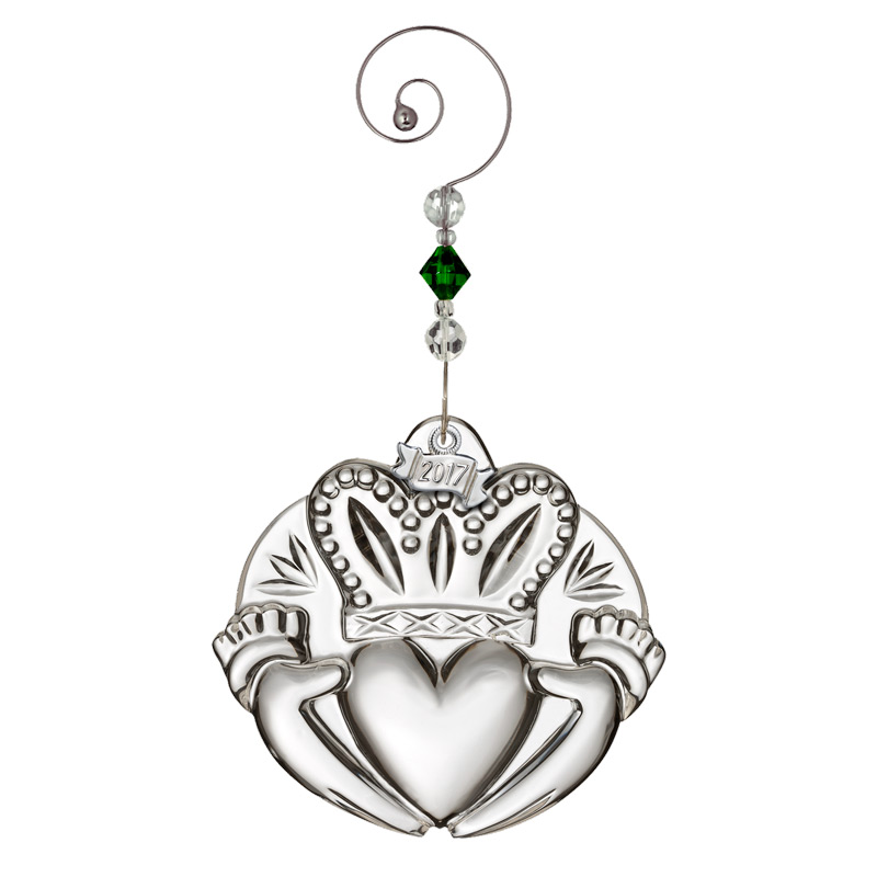 waterford crystal claddagh ornament 2017 christmas ornament. Black Bedroom Furniture Sets. Home Design Ideas