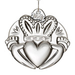 2017 Claddagh | Waterford Crystal Christmas Tree Decoration | Heart Ornament