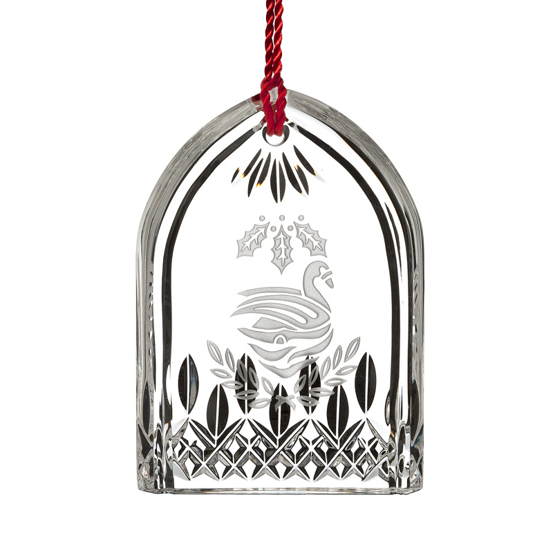 Lismore Seven Swans A Swimming | Waterford Crystal Christmas Tree Decoration | 12 Days of Christmas