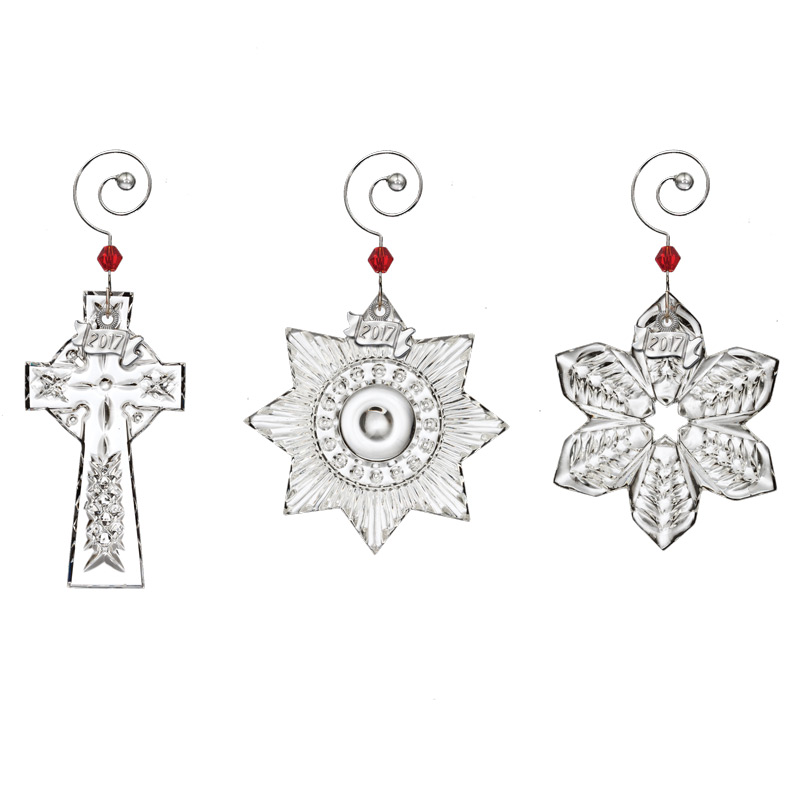 Waterford Crystal Mini Christmas Ornament Set Ornament 2017