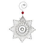 2017 Waterford Mini Star Crystal Christmas Ornament