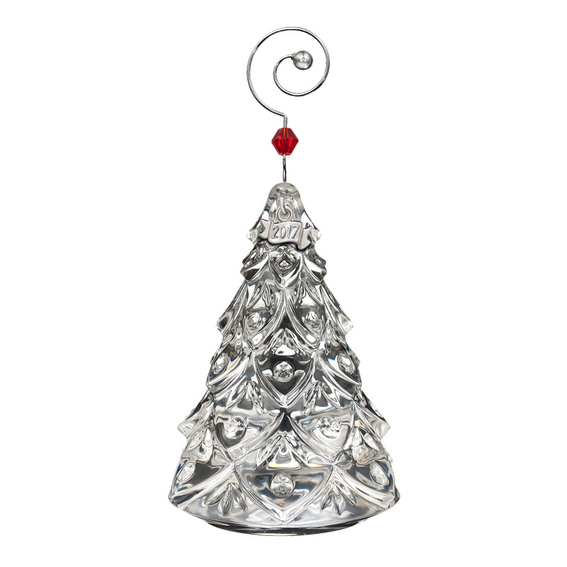 2017 mini tree waterford crystal christmas tree decoration tree decoration - Mini Christmas Tree Ornaments