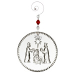 2017 Waterford Nativity Three Wise Men Crystal Ornament
