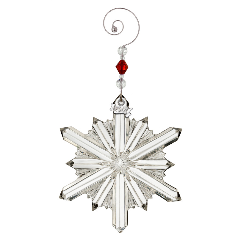 Waterford Crystal Snowstar Ornament 2017 | Silver Superstore