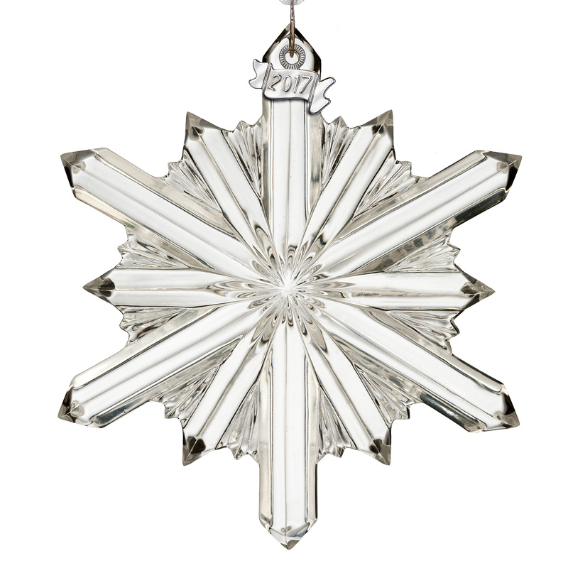 Crystal Christmas Ornaments.Waterford Crystal Snowstar 2017crystal Christmas Ornament By Waterford Crystal