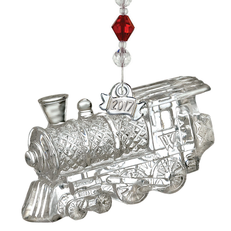 Waterford Crystal Train Engine Ornament 2017 | Silver ...