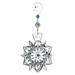 2017 Waterford Snowflake Wishes, Friendship Crystal Christmas Ornament