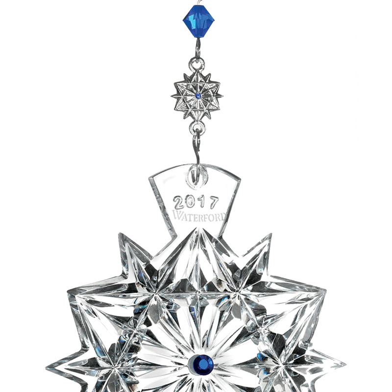 Waterford Crystal Christmas Ornaments.Waterford Crystal Snowflake Wishes Friendship 2017crystal Christmas Ornament By Waterford Crystal