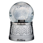 2017 Waterford Times Square Ball Gift of Serenity Crystal Christmas Ornament