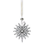Waterford Snow Crystal Pierced Ornament 2018 Ornament | Waterford Christmas Ornament | Snowflake decoration