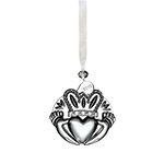 Waterford Crystal Claddagh 2018 Ornament | Waterford Crystal Christmas Ornament | Wedding Ornament