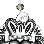 2018 Claddagh | Waterford Crystal Christmas Tree Decoration | Heart Ornament