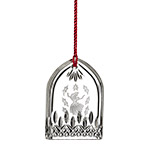 Waterford Lismore Nine Ladies Dancing Crystal Christmas Ornament