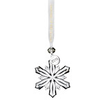 Waterford Christmas Snowflake Mini Ornament