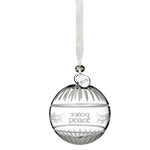 2018 Waterford Ogham Peace Ball Ornament
