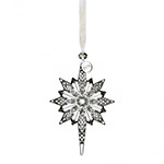 Waterford Crystal Snowstar 2018 Ornament | Waterford Crystal Christmas Ornament | Christmas Ball