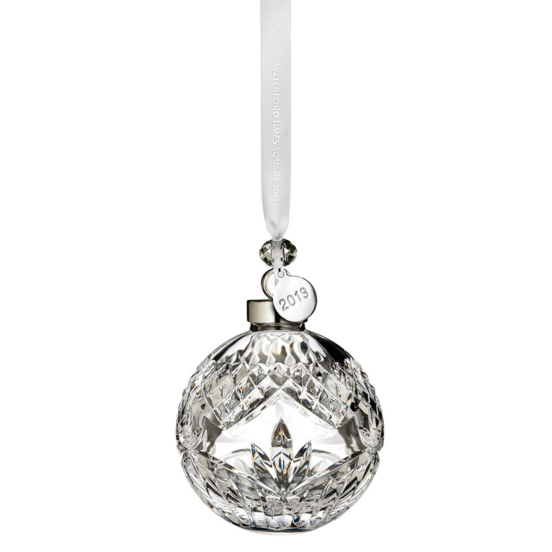 2019 Times Square Ball, New Year's | Waterford Crystal Christmas Tree Decoration | Times Square Ball Ornament