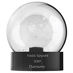 2019 Waterford Times Square Ball Gift of Serenity Crystal Christmas Ornament
