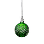 2019 Waterford Emerald Ball Crystal Christmas Ornament