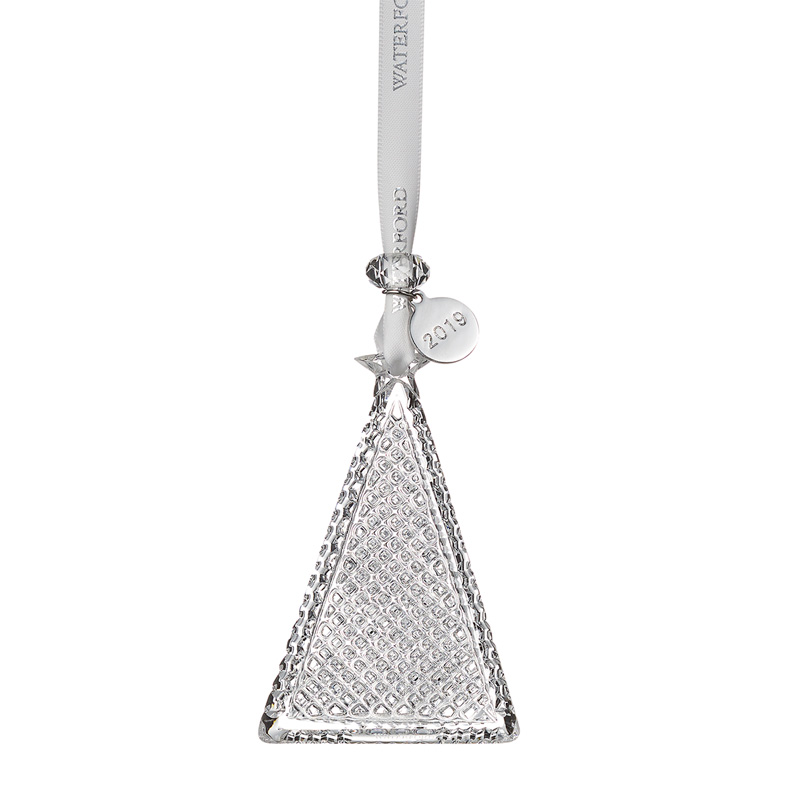 Waterford Crystal Christmas Tree Ornament 2019 | Silver ...