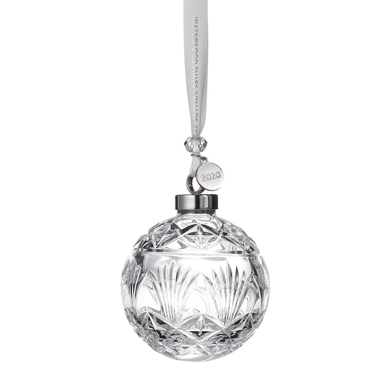 2020 Times Square Ball, New Year's | Waterford Crystal Christmas Tree Decoration | Times Square Ball Ornament