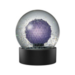 2020 Waterford Snow Globe Crystal Christmas Ornament