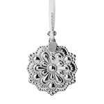 2019 Waterford Annual Snowflake Silver Christmas Ornament