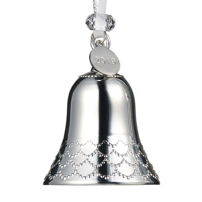 Waterford Silver Bell Ornament 2019 | Silver Superstore