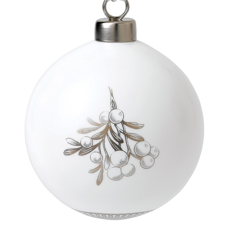 Mistletoe Ornament 2018 | Wedgwood | Silver Superstore