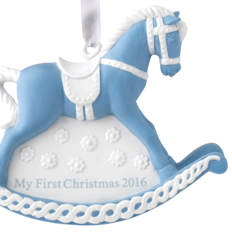 Wedgwood Baby S First Christmas Ornament 2016 Wedgwood