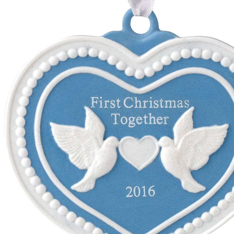 Our First Christmas Together Christmas Ornament 2016 | Wedgwood ...