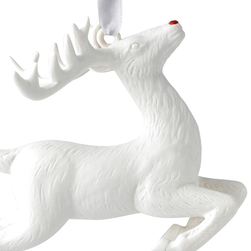 2017 figural reindeer christmas ornament wedgwood christmas tree decoration christmas reindeer design