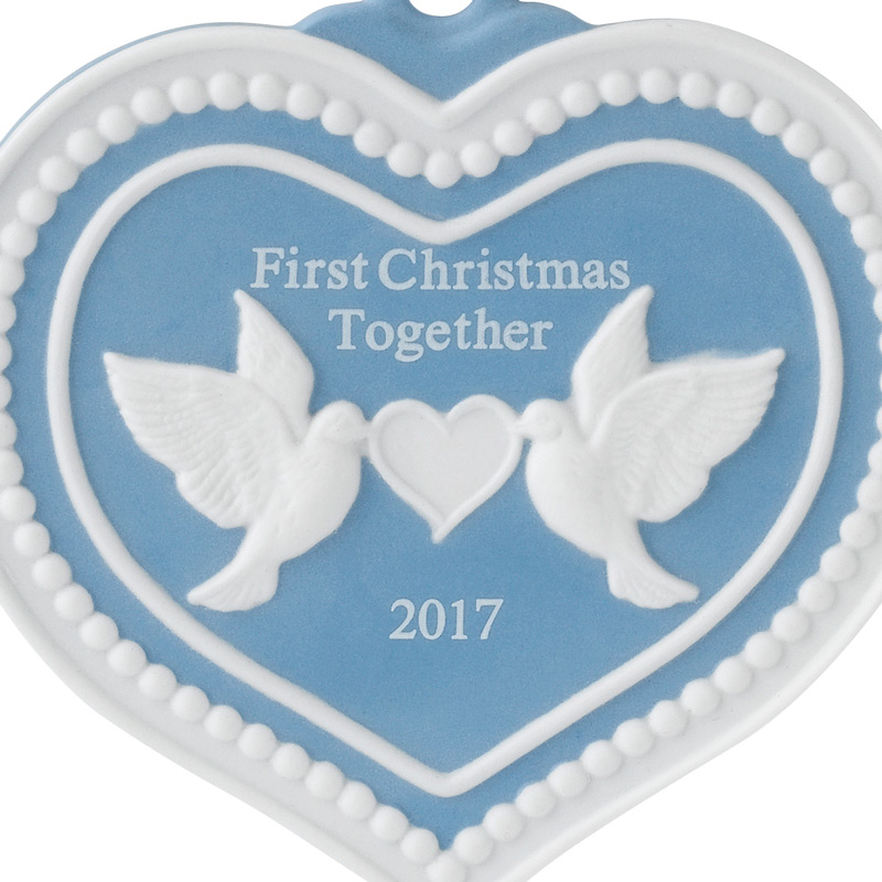 Our First Christmas Together Christmas Ornament 2017 | Wedgwood ...
