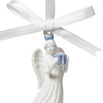 2019 Figural Angel Porcelain Ornament