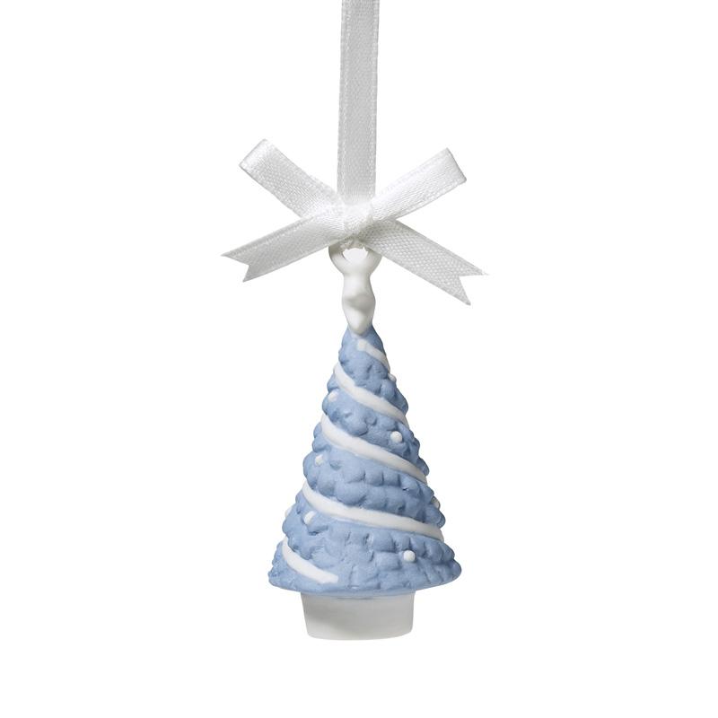 Wedgwood Christmas Ornaments 2019.Wedgwood Figural Tree 2019 Porcelain Christmas Ornament By Wedgwood