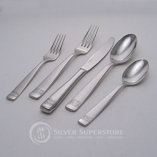 Yamazaki crestwood stainless steel flatware silverware - Yamazaki stainless steel flatware ...